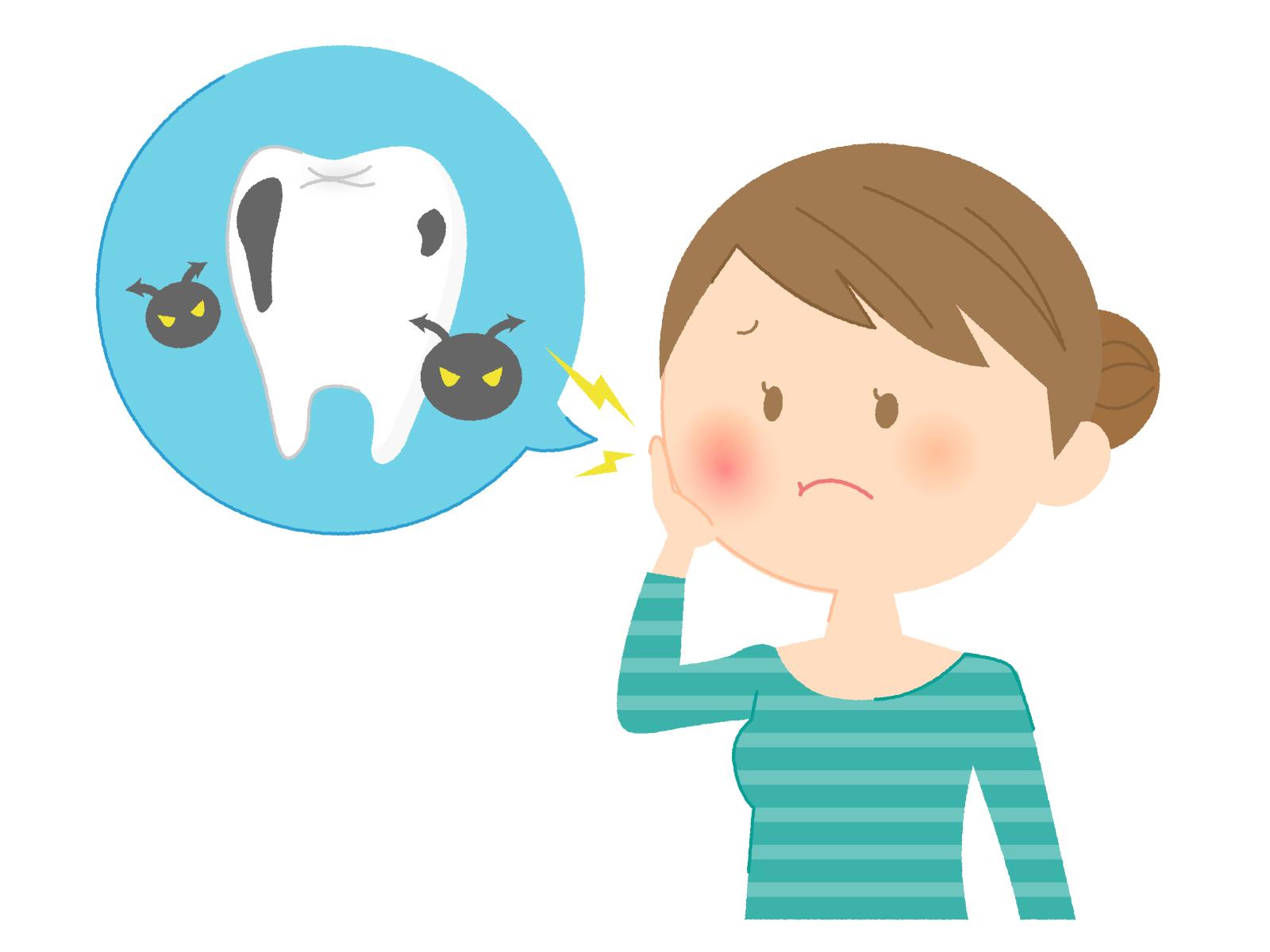 歯がしみるのに虫歯じゃないと言われたことありませんか。